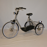 huka ATD driewielfiets roll-on