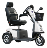 Excel Galaxy Plus driewieler scootmobiel van Os Medical, Roll-on