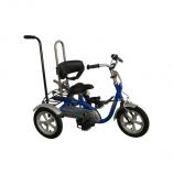 Roll-on Mobilitycare, van Raam Husky driewielfiets kinderen