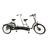 Roll-on Mobilitycare: van Raam Twinny Plus driewiel tandem