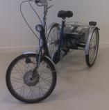 driewielfiets van raam maxi 2 roll-on mobilitycare voor
