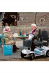 Invacare opvouwbare scootmobiel Leo sfeerfoto Roll-on Mobilitycare
