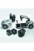 Invacare Leo opvouwbare scootmobiel, onderdelen, Roll-on Mobilitycare