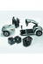 Invacare Leo opvouwbare scootmobiel, onderdelen, Roll-on Mobilitycare