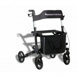 Roll-on: Excel van Os Medical Travel Eaze 2 rollator lichtgewicht