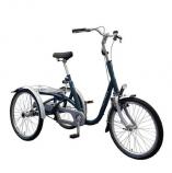 Roll-on Mobilitycare, van Raam Maxi driewielfiets