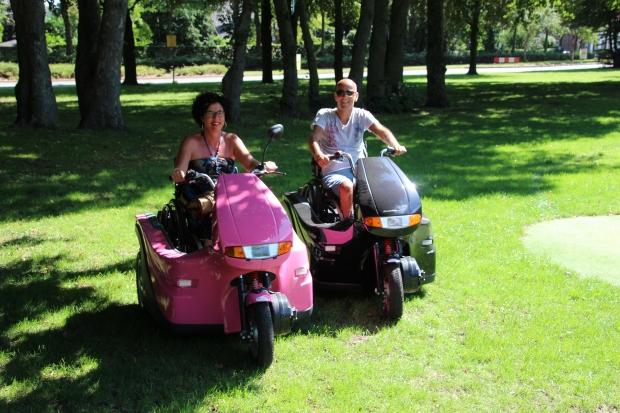 Huka Pendel FD rolstoelscooter