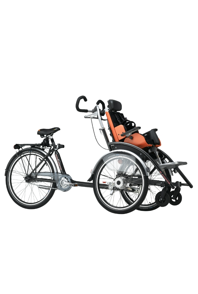 Duet Junior rolstoelfiets, Roll-on Mobilitycare