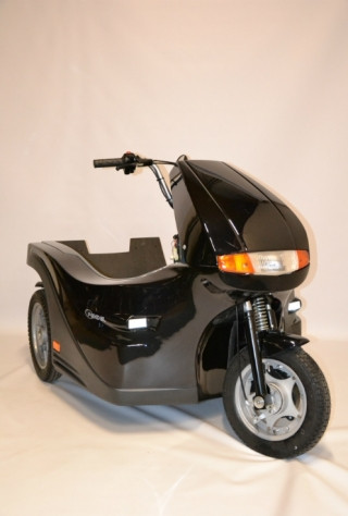 Roll-on: Huka Pendel FD rolstoelscooter Freewiel