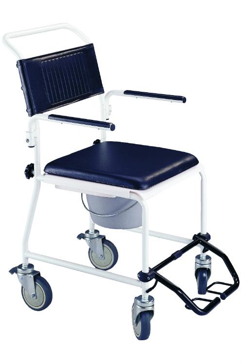 Roll-on Mobilitycare rijdende comfort toiletstoel, HC 2150 van Os Medical