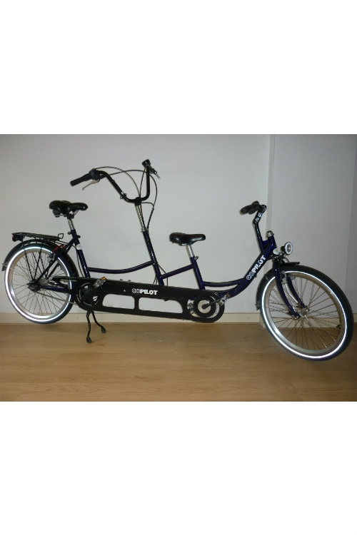 "Roll-on Hapert: Copilot 24"" ouder kind tandem"