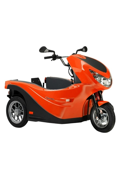 Pendel rolstoelscooter verbreed, Roll-on Mobilitycare