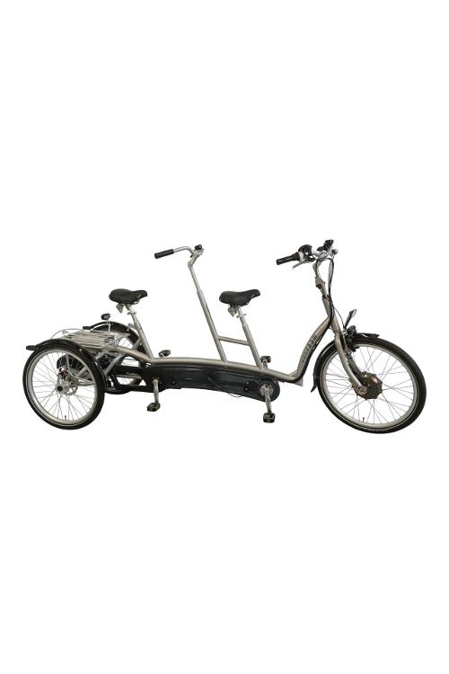 Roll-on Mobilitycare: van Raam Twinny Plus driewiel tandem