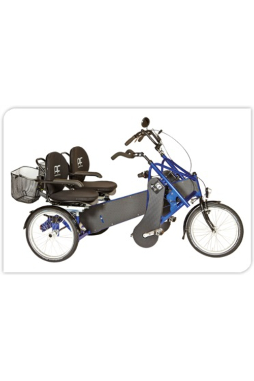 PF mobility DUO duofiets, Roll-on Mobilitycare